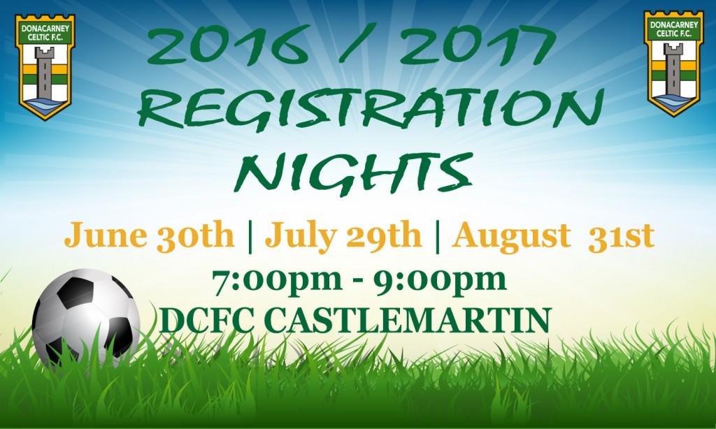Final Registration Night