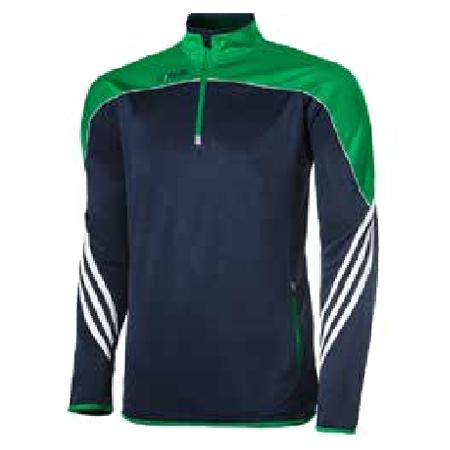 Parnell half zip training top